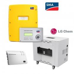 SMA SI4.4M SetLG Chem 5.0kWh Li